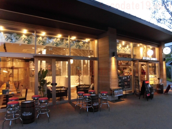 メイカーズピアで撤退閉店移転の魚料理・シーフード料理のお店はどこ?名前は?店名は「SEA GRILL BANQUET(シーグリルバンケット)」1