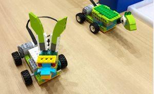 メイカーズピア体験施設~ロボ工房ウサカメ~レゴブロックで作ります。予約不要