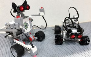 メイカーズピア体験施設~ロボ工房のロボット