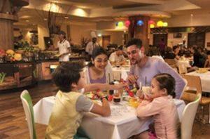 レゴホテルファミリーレストラン