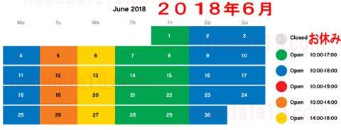 レゴランド名古屋・レゴホテルの水族館sealifeシーライフ名古屋2018年6月の営業時間・営業カレンダー