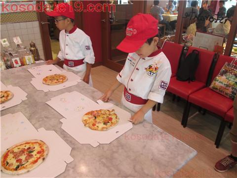 メイカーズピアピザ作り