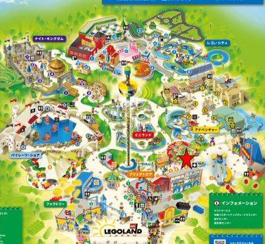 レゴランドレゴ・クリエイティブ・ワークショップマップ