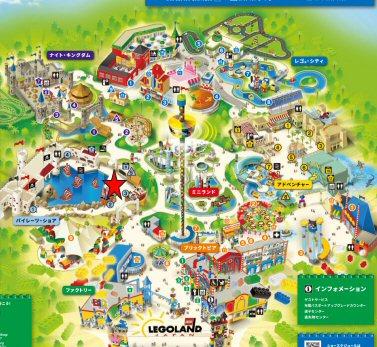 レゴランドキャスタウェイ・キャンプマップ