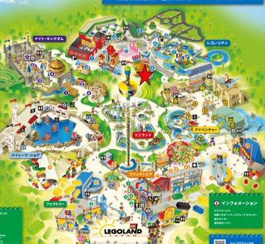 レゴランドシティ・エアポートマップ