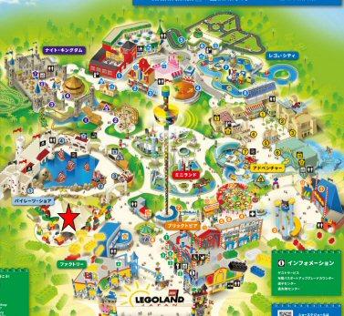 レゴランドデュプロ・エクスプレスマップ
