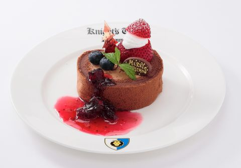 レゴランドクリスマス限定フードクリスマスチョコレートロールケーキ