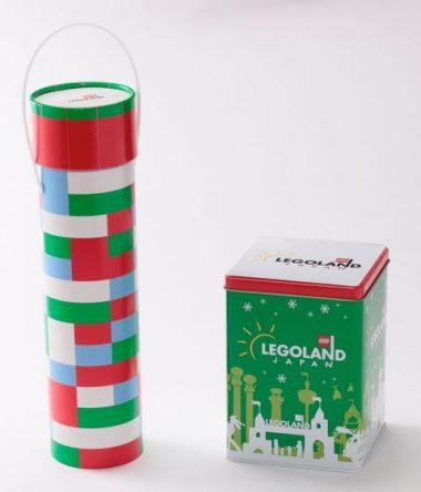 レゴランドクリスマス限定グッズクランチチョコレート 、ボールチョコレート缶