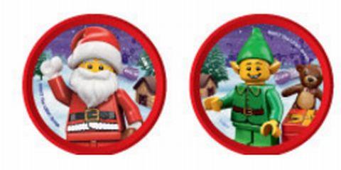 レゴランドクリスマスナイト限定パークオリジナルポップバッジ