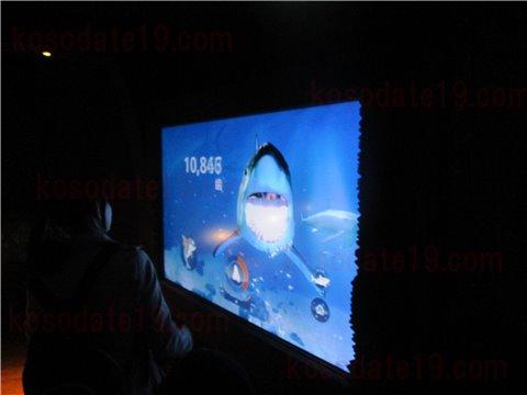 シーライフ名古屋の沈没船。沈没船というより、海賊船のようなイメージのゾーン。(SEALIFEレゴランドの水族館)5