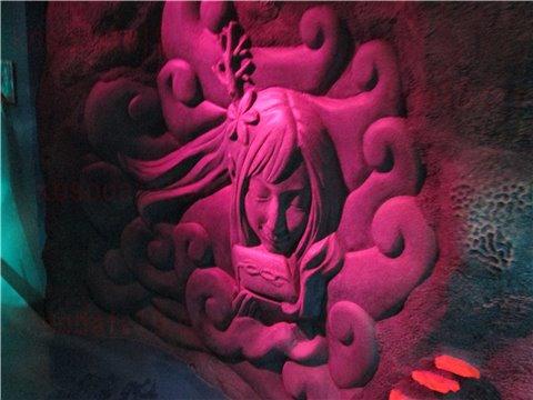 シーライフ名古屋の竜宮城。シーライフナゴヤのテーマであった「浦島太郎」の世界のゾーン。(SEALIFEレゴランドの水族館)6