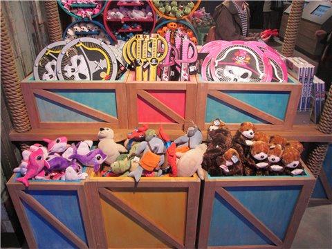 シーライフ名古屋のお土産・グッズ。お子さんには、ぬいぐるみやおもちゃがおすすめ4