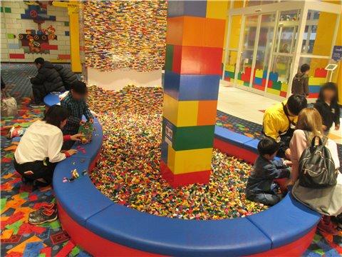 レゴホテルレゴブロックプレイエリア