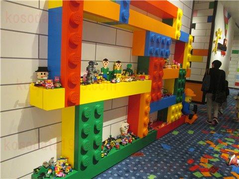 レゴホテルレゴブロック作品