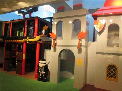 レゴホテル遊び場