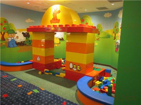 レゴホテルキッズスペース