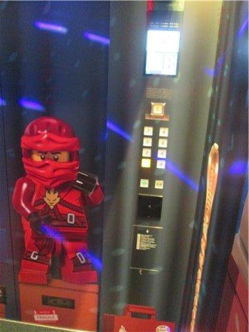 レゴホテルエレベーター