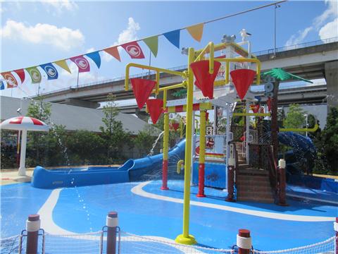 レゴランド水遊びレゴ・シティ・ビーチ・パーティ3