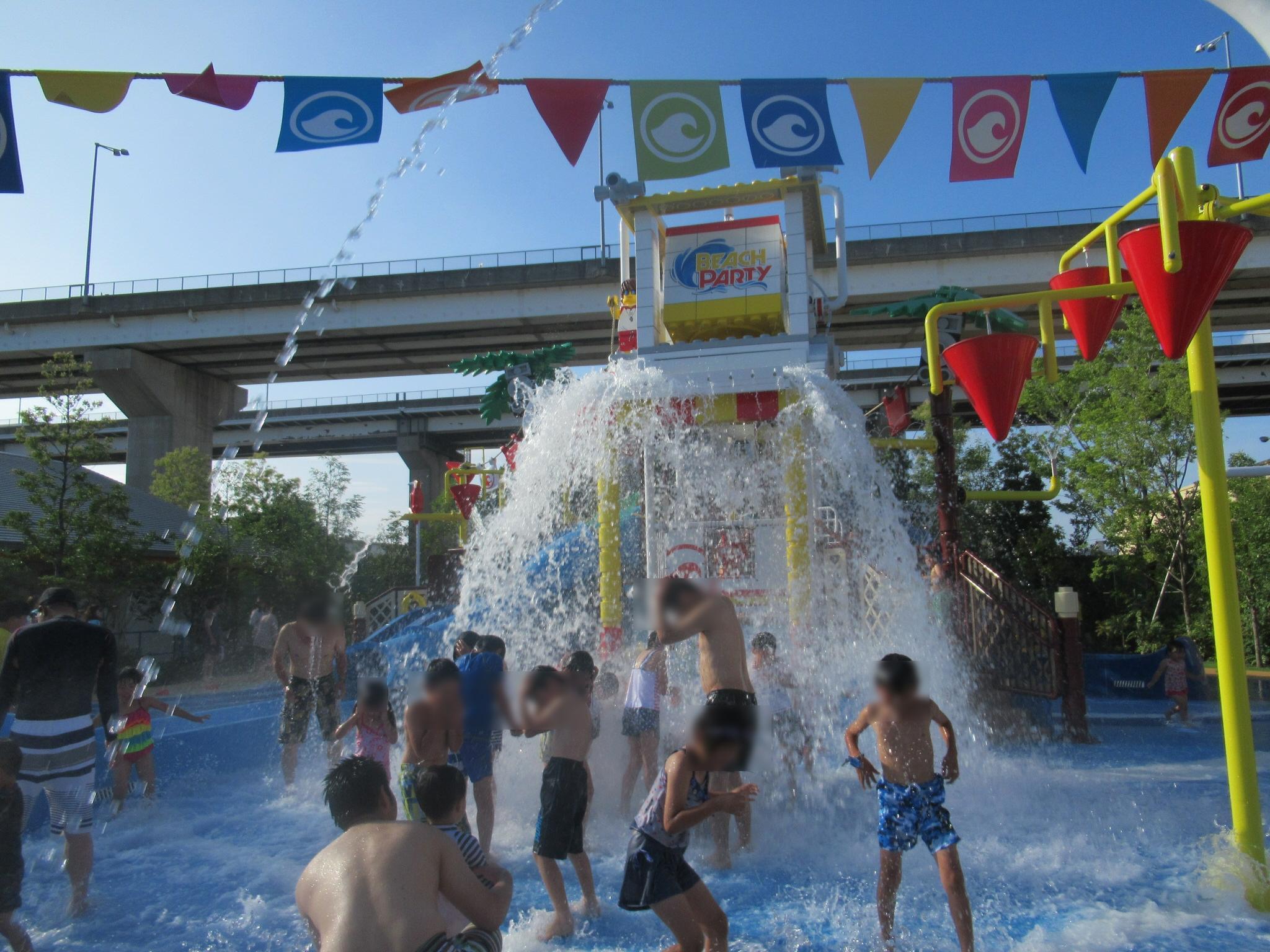 レゴランド水遊びレゴ・シティ・ビーチ・パーティバケツざばーん