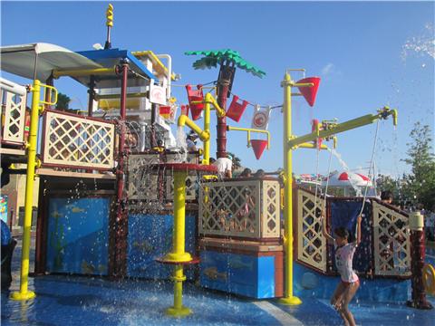 レゴランド水遊びレゴ・シティ・ビーチ・パーティスライダー小さいバケツ