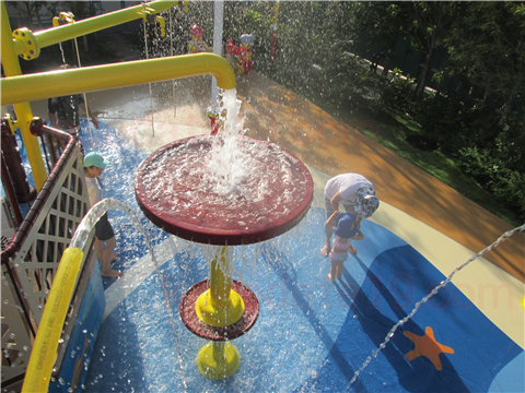 レゴランド水遊びレゴ・シティ・ビーチ・パーティー噴水