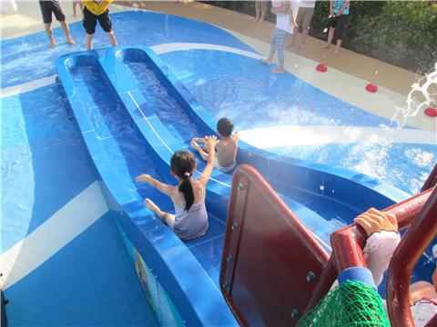 レゴランド水遊びレゴ・シティ・ビーチ・パーティスライダー小
