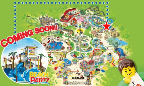 レゴ・シティ・ビーチ・パーティ 場所はどこ?