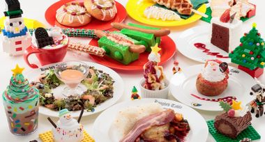 レゴランド クリスマス限定フード&メニュー