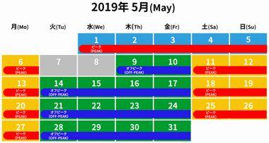 2019年5月レゴランド入場料金・年間パスは?