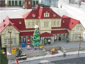 レゴランド201912クリスマスミニランド