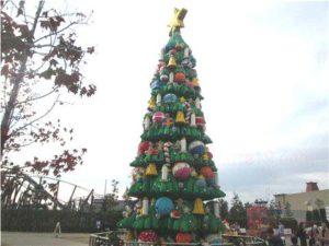 レゴランドクリスマスツリー2019