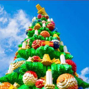 2019レゴランドクリスマスツリー