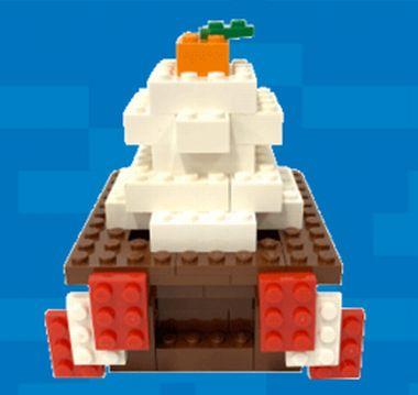 レゴランド鏡餅に新年の願いを込めよう!