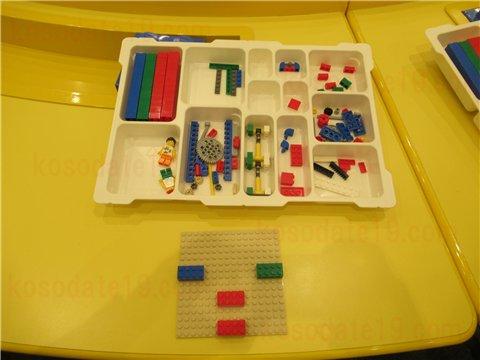 レゴの日限定ワークショップ組み立て