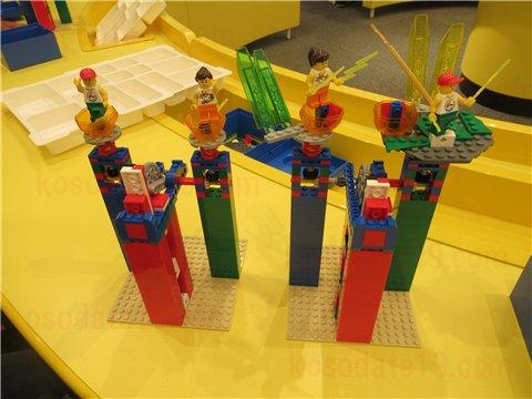 レゴの日限定ワークショップ完成