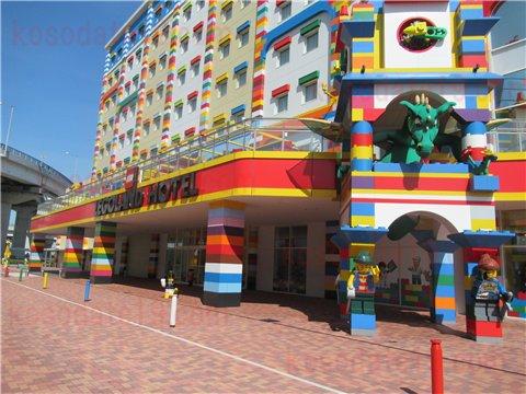 レゴホテルコロナの影響でガラガラ