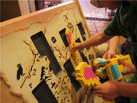 レゴランド宝箱を開けるゲーム