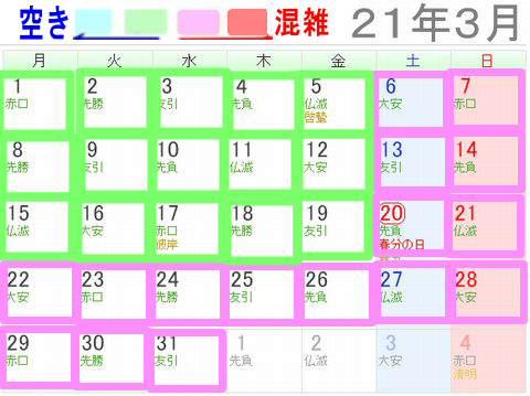 なばなの里イルミネーション混雑予想【2021年3月】