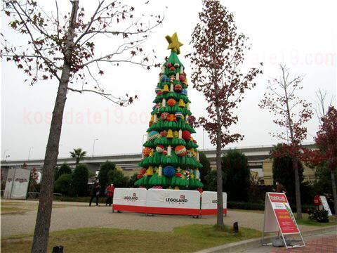 レゴランドクリスマスツリー